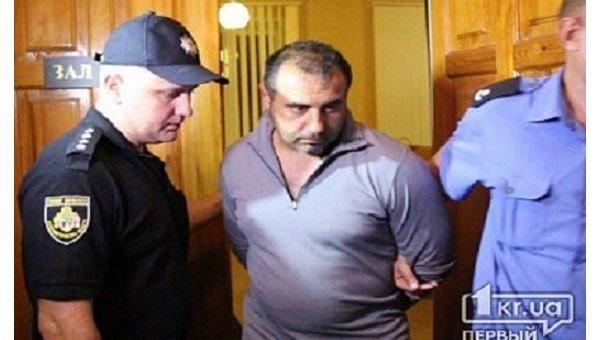 Подозреваемый в ранении журналиста в Кривом Роге во время учений Игорь Петренко