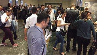 Стамбул затопил сильный ливень