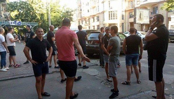 Патриотические разборки в Одессе, 18 июля 2017
