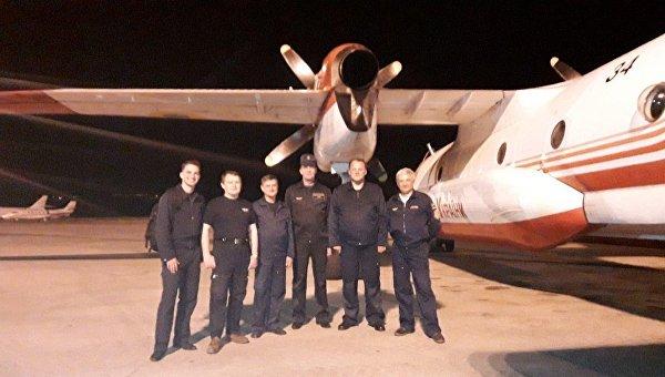 Украинский самолет прибыл в Черногорию тушить пожары