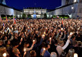 Массовые протесты в Варшаве