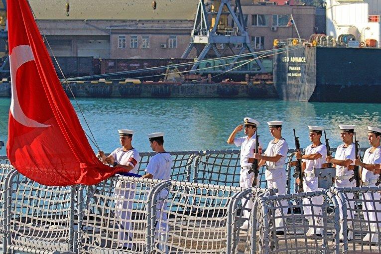 Многонациональная эскадра «Си Бриза» вышла в море на активную фазу