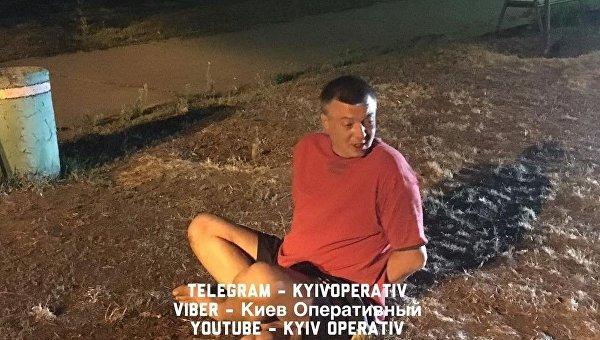 В Киеве задержали пьяного полковника за стрельбу на улице