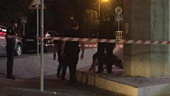Убийство мужчины на парковке в Киеве