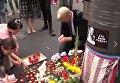 Акция в память о Павле Шеремете в Киеве