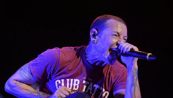 2ffe48678 Участник американской группы Linkin Park Честер Беннингтон. Архивное фото