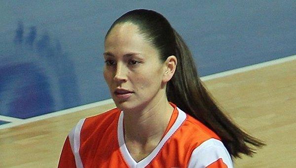 Четырехкратная олимпийская чемпионка американская баскетболистка Сью Берд