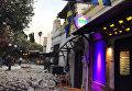 Последствия мощного землетрясения в Греции