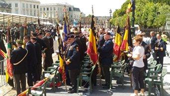 Торжества в Брюсселе по случаю национального праздника Бельгии — Дня присяги короля
