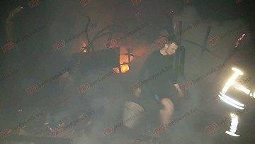 Крупный пожар в Бердянске: дым накрыл прибрежный микрорайон