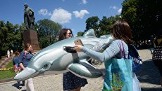 Акция за права дельфинов