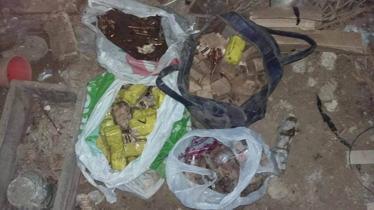 Взаброшенном доме вКиевской области отыскали тайник сбоеприпасами