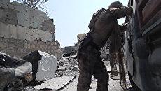 Кадры с места обстрела корреспондента Sputnik в Мосуле