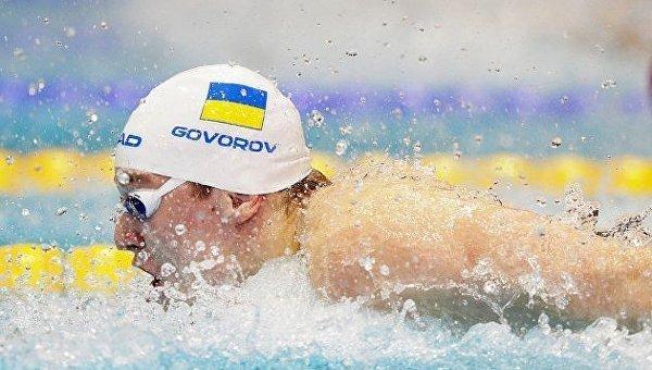 Украинский пловец Андрей Говоров