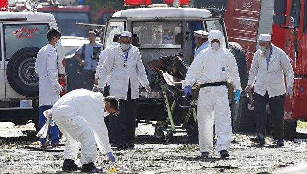 Теракт в Кабуле. Архивное фото