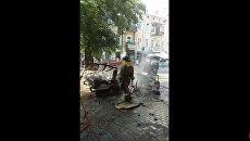В центре Одессы произошёл взрыв