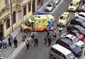 Инцидент в центре Праги