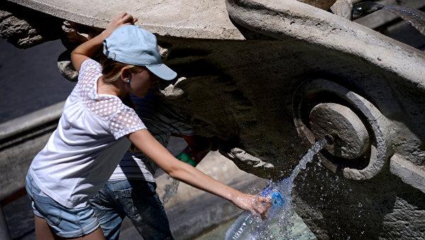 Проблемы с питьевой водой в Италии