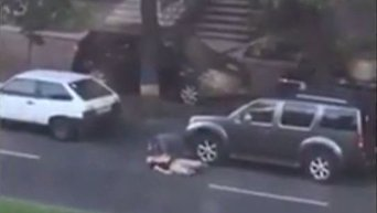 Опубликовано видео момента расстрела бойцов АТО в Днепре