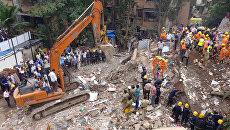 В Индии обрушился жилой дом