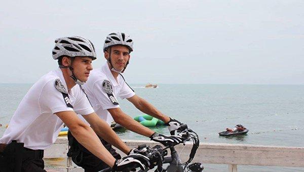 Начало работы велопатруля в Одессе