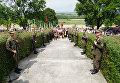 Перезахоронение бойцов СС Галичина во Львовской области, 23 июля 2017