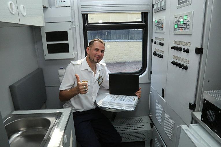 Новый поезд Укрализныци после ремонта
