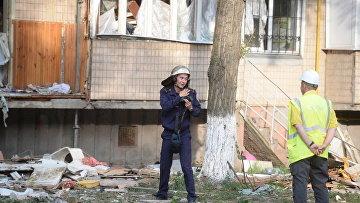 Полиция открыла дело из-за взрыва в жилом доме Киева