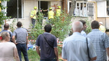 Жители 19 квартир взорвавшегося дома в Киеве просят о жилье