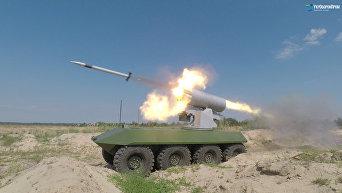 Госконцерн Укроборонпром провел испытания боевого модуля с новым типом вооружения для запуска ракет РС-80
