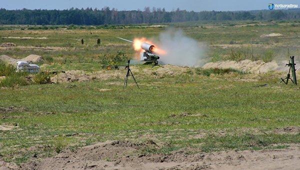 ВУкраинском государстве провели успешные тестирования беспилотного БТР «Фантом-2»