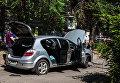 В Днепре взорвалась машина с девушкой-водителем
