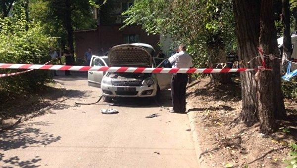 Милиция: Отвзрыва автомобиля вДнепре пострадал еще один человек