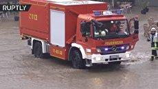 Немецкий городок Гослар затопило в результате сильных ливней