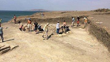 В Крыму нашли античное захоронение ребенка с деформированным черепом