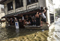 Последствия сильного ливня в Стамбуле