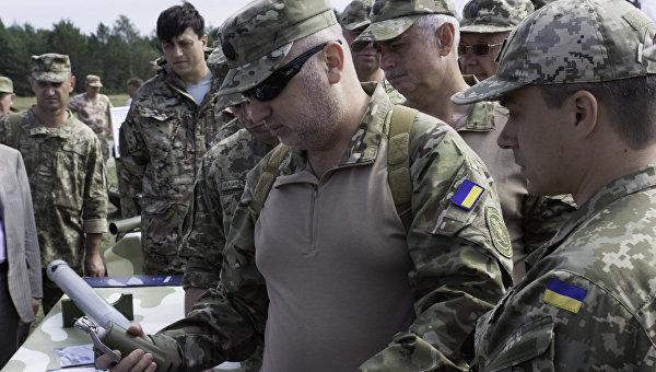 Турчинов приехал вДонецкую область проверить «глушилку» пророссийских телевизионных каналов