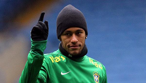 Игрок сборной Бразилии Неймар. Архивное фото