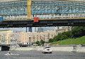 Теплоход на реке в Москве