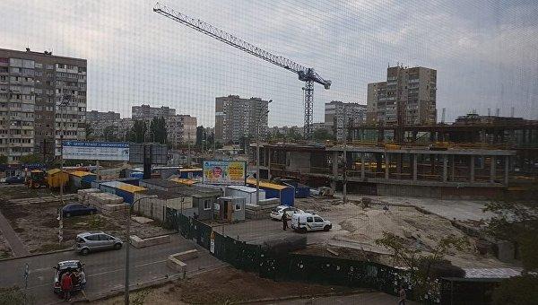 Наскандальной стройке на«Героев Днепра» умер рабочий— Киев