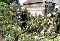 Последствия непогоды в Кривом Роге, 29 июля 2017