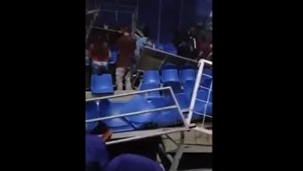 В Колумбии обрушилась трибуна цирка, десятки травмированных. Видео