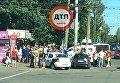 В Киеве автомобиль влетел в толпу людей