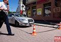 В Ивано-Франковске растреляли авто предпринимателя