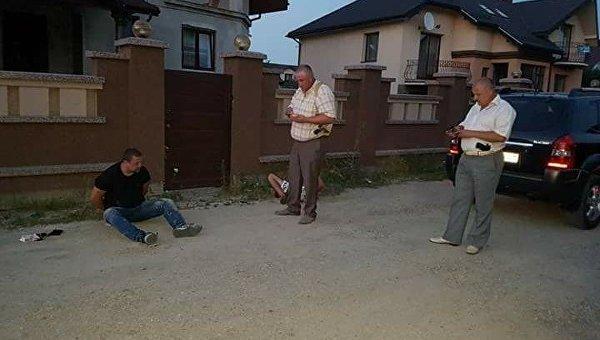 ВИвано-Франковске обстреляли автомобиль бизнесмена