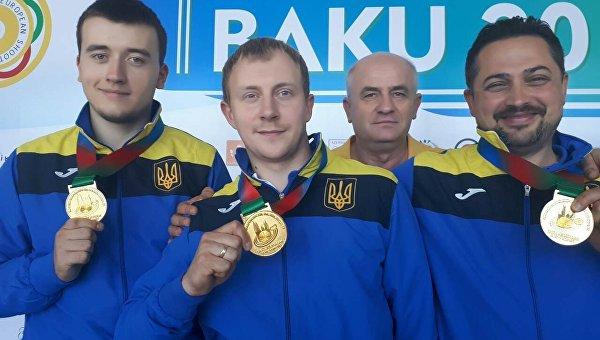Милош Славичек стал чемпионом Европы пострельбе