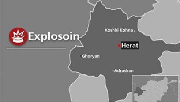 Взрыв в шиитской мечети в Герате, Афганистан