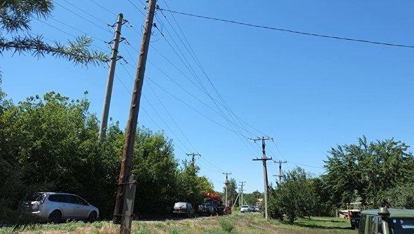 Электричество в Донбассе