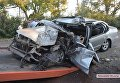 Появилось видео с места аварии, в которой разбился проректор Одесской юракадемии. Видео