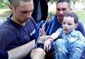 Мальчик попал в ловушку на детской площадке в Харькове